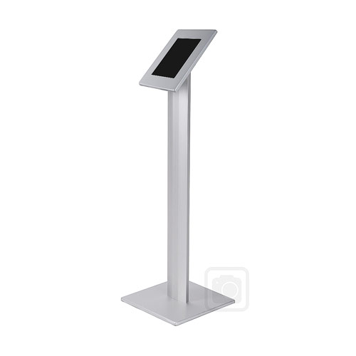 "Tablet Floor Stand For IPad With 10"" Screen, Lockable"