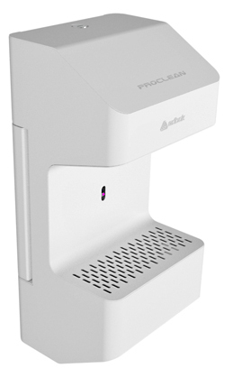 Proclean automatic hand sanitizer dispenser, wall
